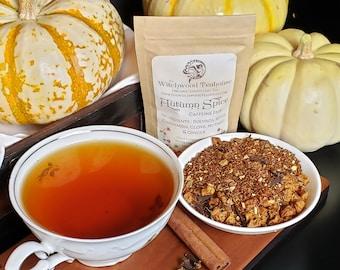 Autumn Spice Organic Loose-Leaf CAFFEINE FREE Tea