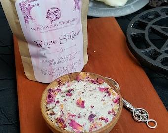 Rose Herbal Organic Ritual Sugar