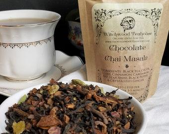 Chocolate Chai Masala Organic Loose Leaf Tea