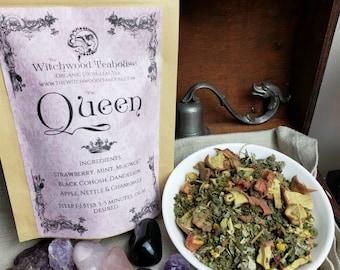 Queen Organic Loose Leaf Tea, Caffeine Free