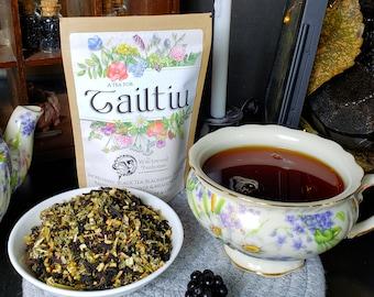 Tailtiu Blackberry Organic Loose Leaf Tea - Lughnasadh Tea
