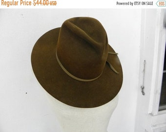 20325c23c44 10% OFF Vintage Winchester Brown Wool Felt Hat