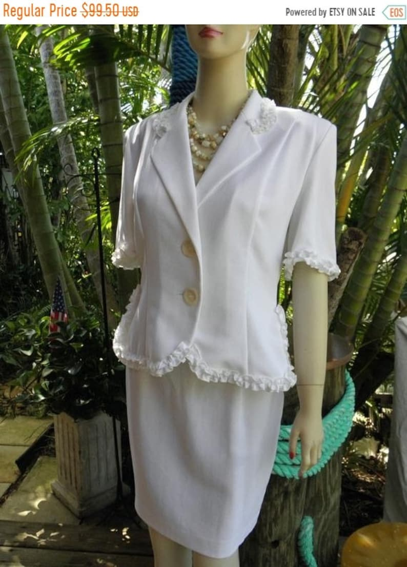 50 OFF 1980's Paris Chantal Thomass Short Sleeve Summer 2 image 0