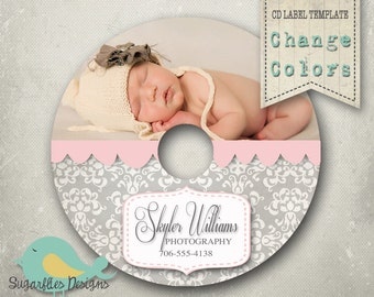 cd dvd label photoshop template dvd label 8 etsy