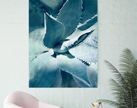 Stunning Succulent 3, Succulent Wall Decor, Watercolor, Succulent Painting, Tropical Painting, Watercolor Painting, Tropical Canvas Print