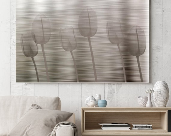 "Abstract Natural. Floral Painting, Gray Abstract Art, Wall Decor, Abstract Brown Contemporary Canvas Art Print up to 72"" by Irena Orlov"