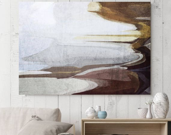 """White meadows. Abstract Paintings Art, Wall Decor, Extra Large Abstract Colorful Contemporary Canvas Art Print up to 72"""" by Irena Orlov"""