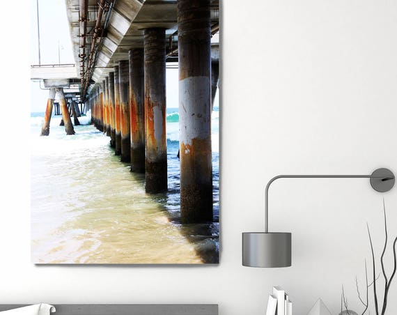 """Venice Pier Beach 2, Los Angeles. Extra Large Fine Art Canvas Print up to 72"""", Photography Canvas by Irena Orlov"""
