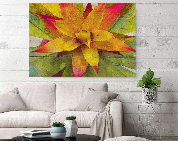 Summer Melody. Succulent, Succulent Wall Art, Succulent Print, Kitchen Print, Plant Print, Cactus Print, Succulent Canvas Print