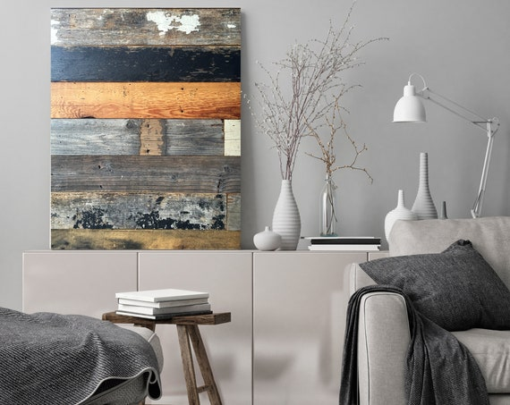 "Rustic barn wood 2 Canvas Art Print, Extra Large Canvas Print up to 90"" by Irena Orlov"