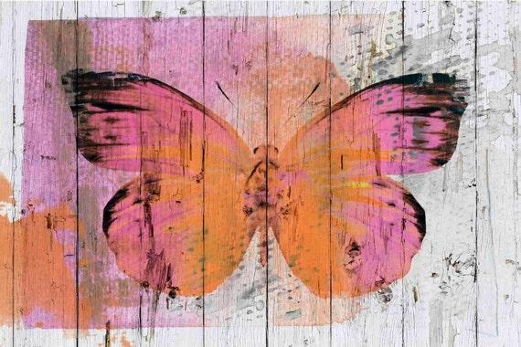 "Buterffly Kiss. Canvas Print by Irena Orlov 24x36"""