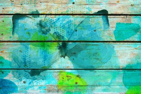 Blue Accent. Canvas Print by Irena Orlov