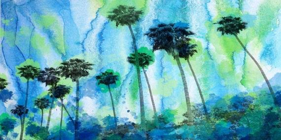 "Morning in Malibu. California. Canvas Print by Irena Orlov 30 x 60"""