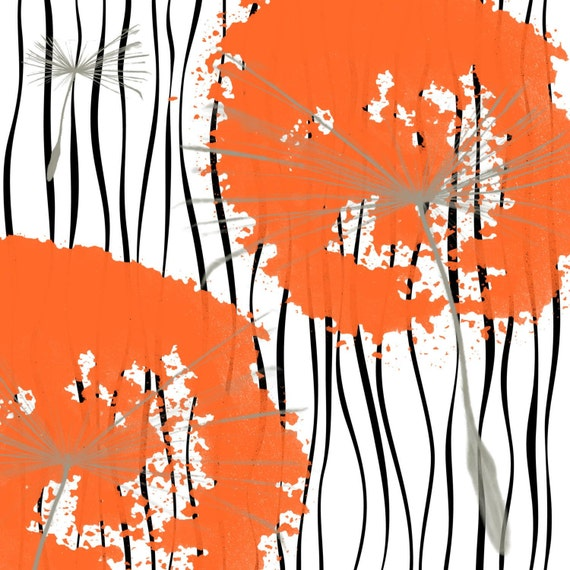 Orange Plant. Canvas Print by Irena Orlov