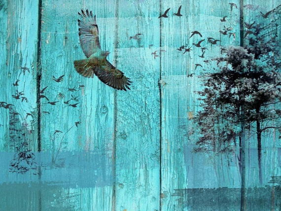 Bird Migration. Canvas Print by Irena Orlov 24x36""