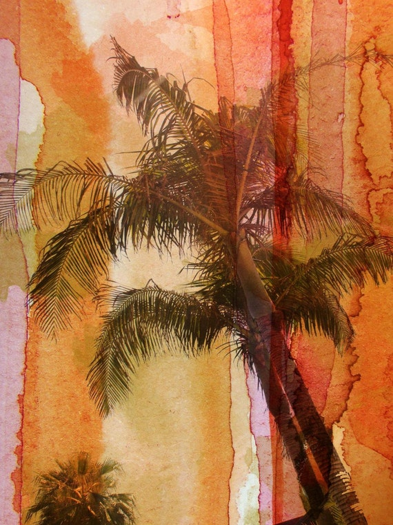 Palm Tree. Canvas Print by Irena Orlov 40x30""