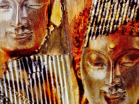 Buddha. Canvas Print by Irena Orlov 40x30""