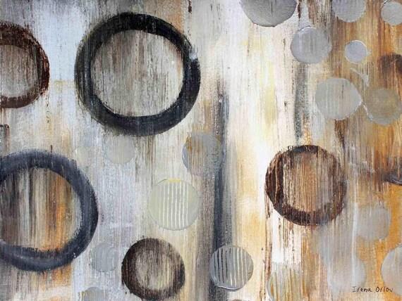 "Geometric Abstraction JF27 by Irena Orlov 24"" x 36"", large abstract canvas art print, wall art print, wall decor, fine art print"