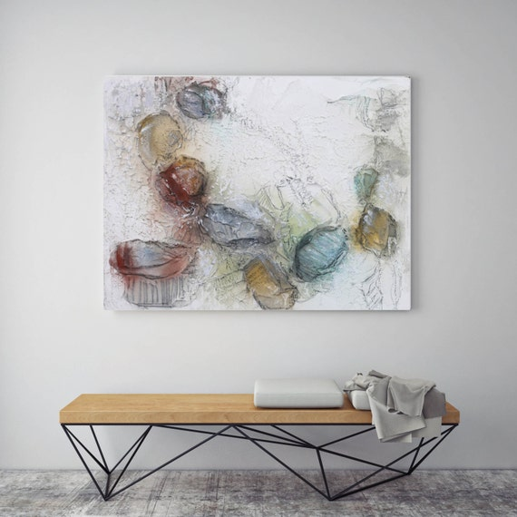 "Growth. Abstract Paintings Art, Wall Decor, Extra Large Abstract Colorful Contemporary Canvas Art Print up to 72"" by Irena Orlov"
