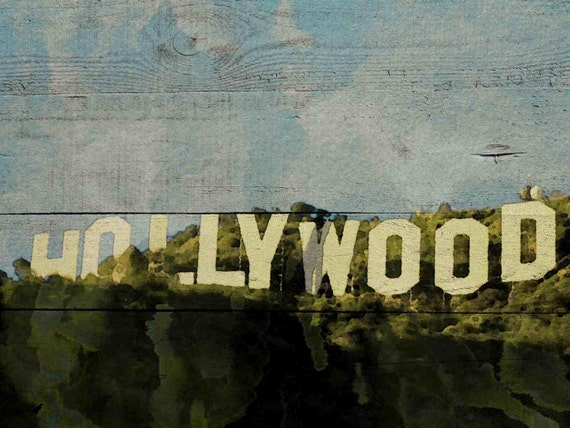Hollywood Moment . Canvas Print by Irena Orlov 24x36""
