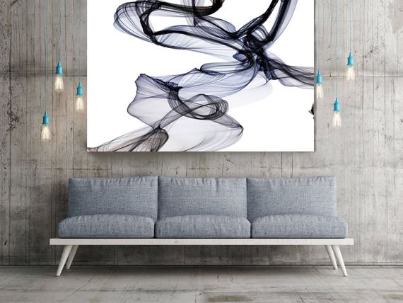 "The Invisible World-Movement20_12_55., Abstract New Media Art, Wall Decor, Extra Large Abstract  Canvas Art Print up to 72"" by Irena Orlov"