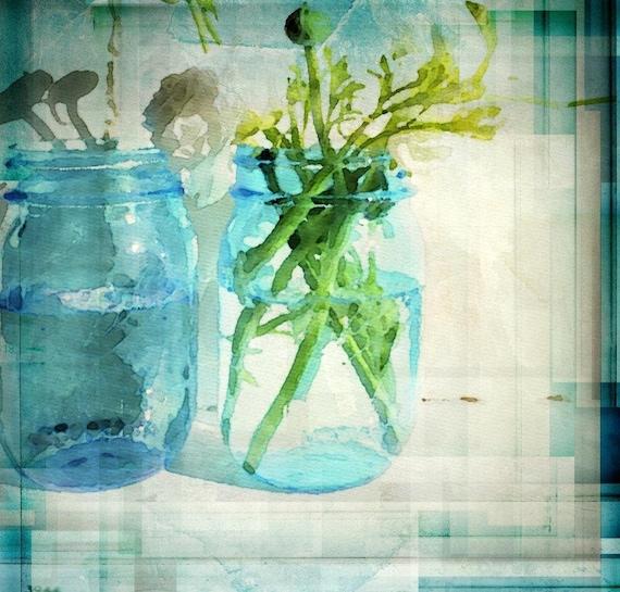 "In the jar. Canvas  Print by Irena Orlov 24x24"""