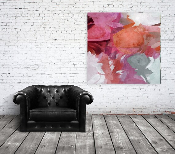 "Spirit Dance. Abstract Paintings Art, Wall Decor, Extra Large Abstract Colorful Contemporary Canvas Art Print up to 48"" by Irena Orlov"