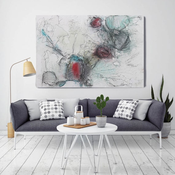 "Organic Abstraction. Abstract Paintings Art, Wall Decor Extra Large Abstract Colorful Contemporary Canvas Art Print up to 72"" by Irena Orlov"