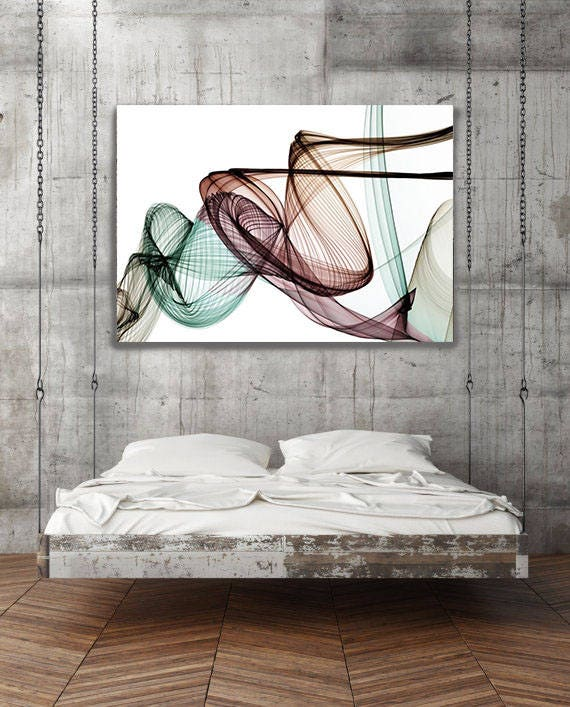 "The Invisible World-Movement17_52_46, Abstract New Media Art, Wall Decor, Extra Large Abstract  Canvas Art Print up to 72"" by Irena Orlov"