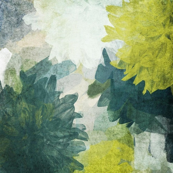 Blue and green inspiration. Canvas Print by Irena Orlov