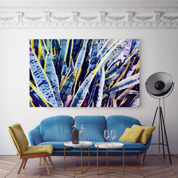 Tropical Blue. Canvas Print by Irena Orlov