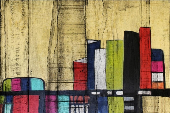 "Inner City. Giclee Print by Irena Orlov 24x36"""