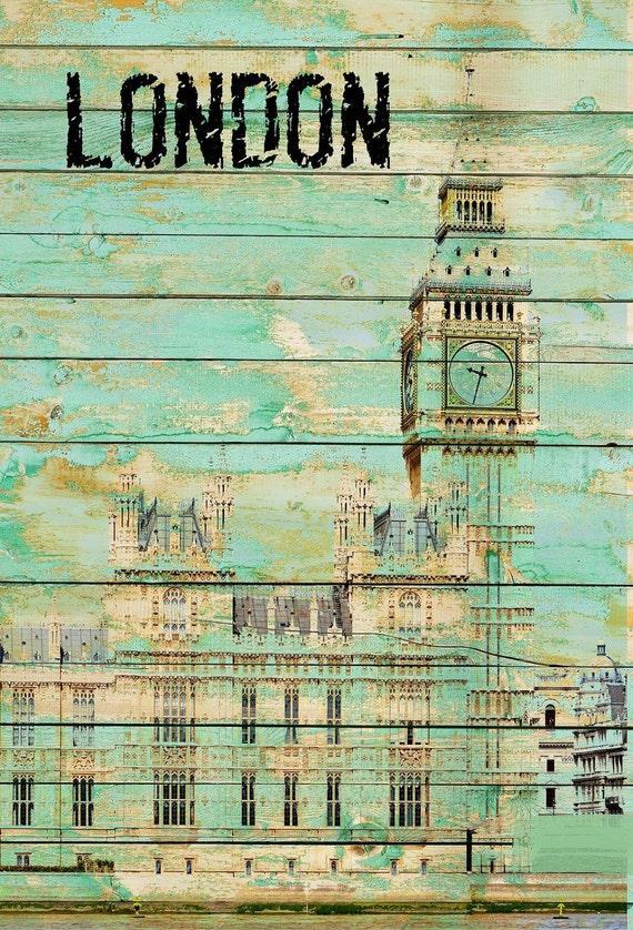 "London. Canvas Print by Irena Orlov 24x36"""
