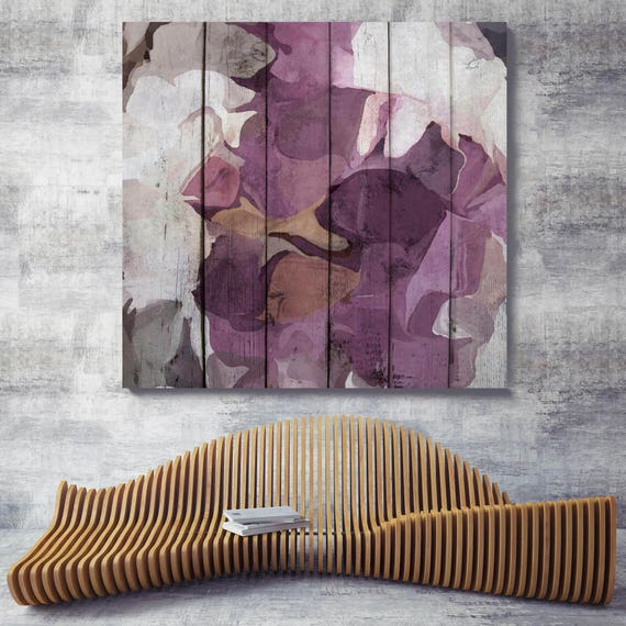 "Purple Mix. Abstract Paintings Art, Wall Decor, Extra Large Abstract Colorful Contemporary Canvas Art Print up to 48"" by Irena Orlov"