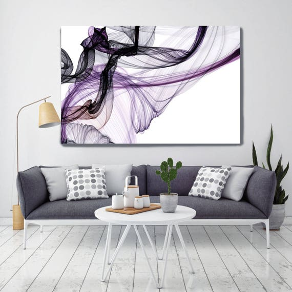 "The Invisible World-Movement18_38_43, Abstract New Media Art, Wall Decor, Extra Large Abstract  Canvas Art Print up to 72"" by Irena Orlov"