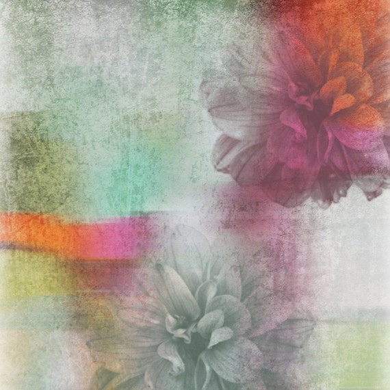 Discover the birth of the floral bouquet. Canvas Print by Irena Orlov
