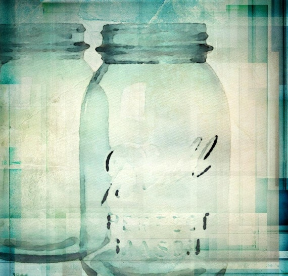 Jars Art. Canvas Print by Irena Orlov 24x24""