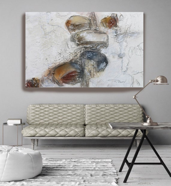 "Organic Forms. Abstract Paintings Art, Wall Decor, Extra Large Abstract Colorful Contemporary Canvas Art Print up to 72"" by Irena Orlov"