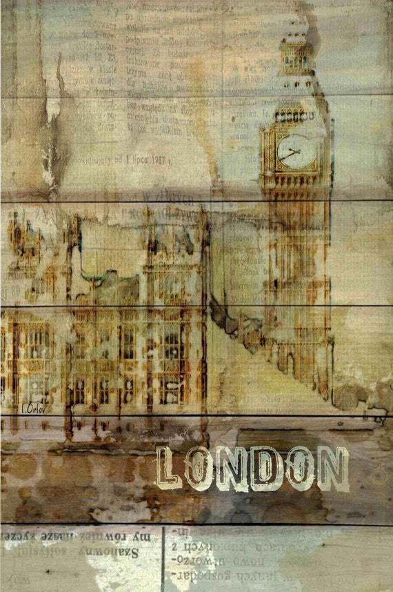 Big Ben View, London . Canvas Print by Irena Orlov