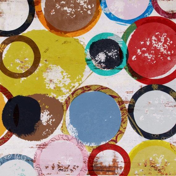 "Bubble garden II.  Canvas Print by Irena Orlov 30"" x 30"""