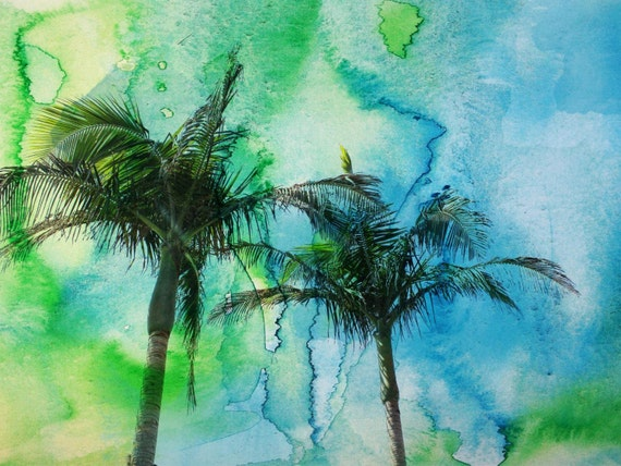 Palm Trees. Canvas Print by Irena Orlov