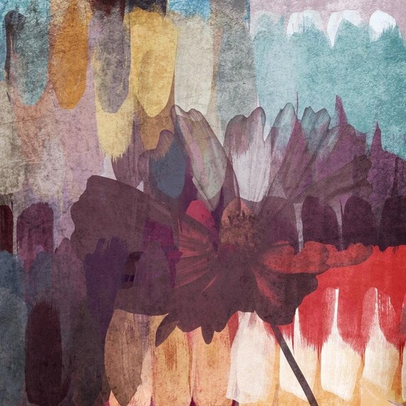5444 Floral Pallet II. Canvas Print by Irena Orlov