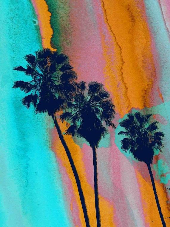 "Los Angeles Palms.  Canvas Print by Irena Orlov 40x30"""