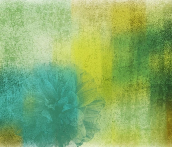 "Blossom and Shine. Floral Painting, Green Abstract Art, Wall Decor, Abstract Colorful Contemporary Canvas Art Print up to 72"" by Irena Orlov"
