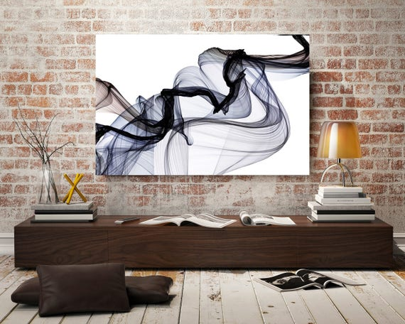 """The Invisible World-Movement20_52_12. Abstract New Media Art, Wall Decor, Extra Large Abstract  Canvas Art Print up to 72"""" by Irena Orlov"""