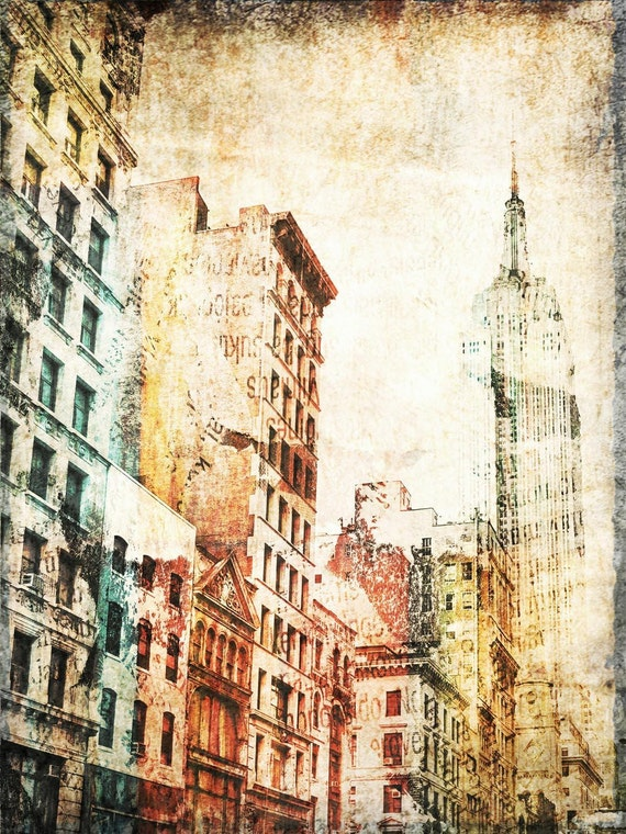 "Empire State Building. New York Extra Large Canvas Print up to 72""  by Irena Orlov"
