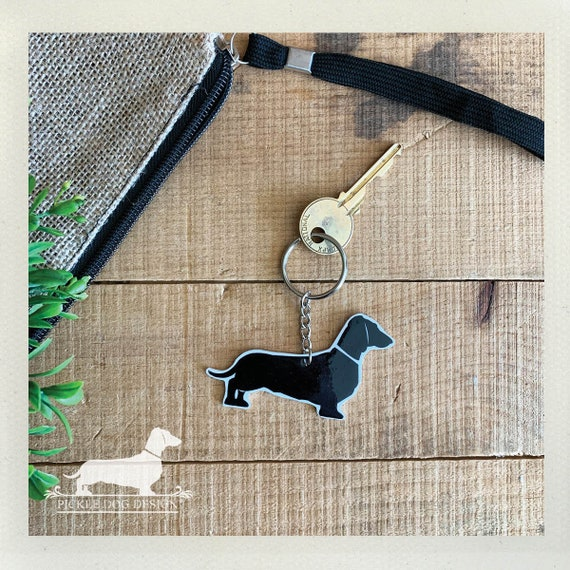 Doxie Dog. Keychain