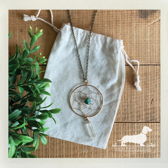Dreamcatcher. Necklace