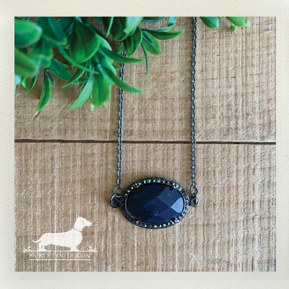 Classic Blue. Necklace