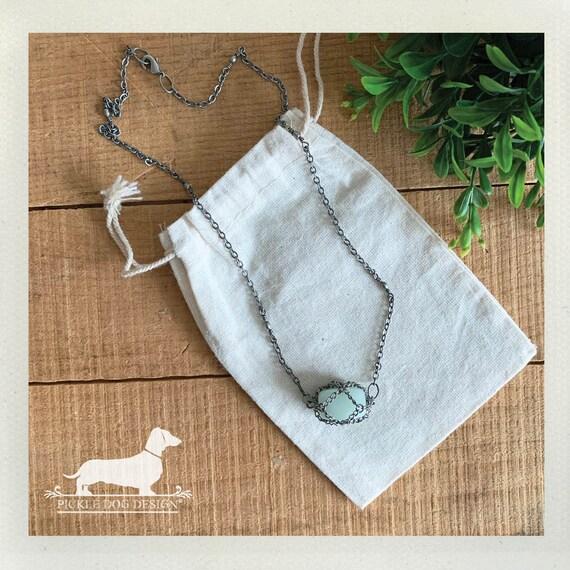 Mint Chain. Necklace